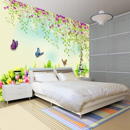 $enCountryForm.capitalKeyWord Australia - Large 3D bump stereo green nature scenery non-woven mural wallpaper bedroom eye-protecting wallpaper children's room sofa TV background wall