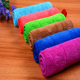 Free Shipping Cleaning Towel Wash Towel Polishing Drying Cloths size 20x30cm 6 colors on Sale