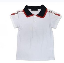 children designer tag tee clothes baby boy girl t shirt fashion 3 color boy shirt for kids tops t-shirt on Sale