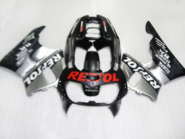 $enCountryForm.capitalKeyWord Australia - Free custom fairing kit for Honda CBR 900RR 1996 1997 black silver fairings set for CBR900RR 96 97 CV45