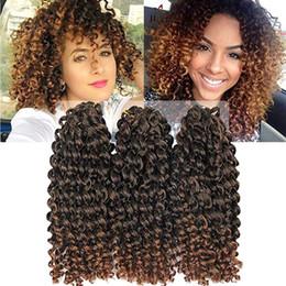 KinKy twists hair online shopping - set Malibobo Crochet Braids Kanekalon Braiding Hair inch Afro Kinky Twist Hair Synthetic Marley Braids Hair Extensions