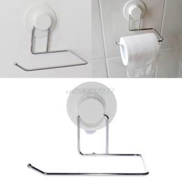 $enCountryForm.capitalKeyWord Australia - Toilet Paper Holder Bathroom Suction Hanger Tissue Rack Kitchen Towel Hook#H0VH# Drop
