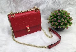 Vintage clasp purse online shopping - 2019 Brandl Satchel Bag Designe Flap Shoulder Bags Women F Magnetic Clasp Crossbody Bag FF Pattern PU Leather Strap Purse FF