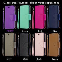 Iphone Leather Sleeve Cases Australia - Pure colored Lychee leather sleeve for iphone 6-MAX