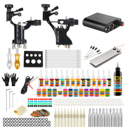 $enCountryForm.capitalKeyWord Australia - New Complete Professional Tattoo Machine Kit Sets 2 Rotary Machines for Body Art Color Inks Power Supply