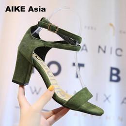 $enCountryForm.capitalKeyWord Australia - 2019 Dress 2018 Spring Summer Sandals Zapatos Mujer Wedding Shoes Woman Ladies Women Pumps Gladiator High Heels Womens Green Shoes