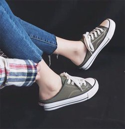 Discount new star shoes - 1970s New Jointly Name CDG Play convas casual outdoor shoes women athletic kids star all 35-39