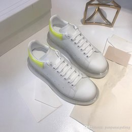 pure leather ladies shoes 2019 - 2019 Luxury Designer Women Sneakers Ladies girls Leather Flange Wrap Casual Shoes Classic Balck Pure White women shoes c