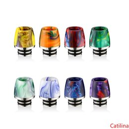 tank cones UK - Newest Cone Shape 510 Stainless Steel Epoxy Resin SS Drip Tips Mouthpiece fit Trinity Alpha Pod Subtank mini Arctic Atlantis TFV8 Baby Tank
