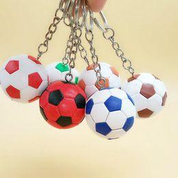 $enCountryForm.capitalKeyWord Australia - Free DHL Mini Metal Sports Keychain Cute Soccer Keychain Keyring Football Fans Ball Keyring Perfect Small Gifts Pendant Ornament G627R Y