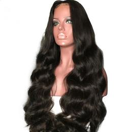 $enCountryForm.capitalKeyWord UK - 150% Density Bleached Knots Brazilian Virgin Human Hair Glueless Full Lace Wig Losse Wave For Black Woman