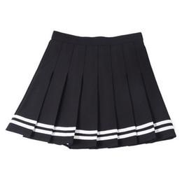 $enCountryForm.capitalKeyWord NZ - Van AA High waist Pleated of Europe and America British Wind Navy Sailor Pleated Skirt Short Half-length Skirt Umbrella Skirt