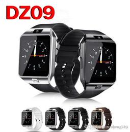 Smart Home Cameras Gsm Australia - Bluetooth Smart Watch Smartwatch DZ09 Android Phone Call 2G GSM SIM TF Card Camera for iPhone Samsung HUAWEI