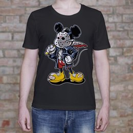 $enCountryForm.capitalKeyWord Australia - Micky Maniac Shirt. Mouse Mask Knife Blood Funny Men's T Shirt Gift 2018 High quality Casual Short sleeve Brand Men T shirt