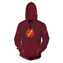 $enCountryForm.capitalKeyWord UK - Asian Size Unisex Battle 3D Zipper Cosplay Costume Superhero Long Sleeve Coat Casual Jacket Sweatshirts Hoodies