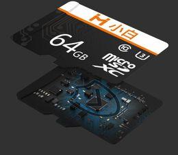 Toptan satış Xiaomi Youpin xiaobai Micro SD Kart 32G 64G 128g 95 MB / S 100MB / S Bellek Kartı Micro TF Flaş Kart İçin Telefon Kamera Kaydedici