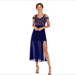 Lady S Dresses Australia - 2019 Summer Dresses for Women Holiday Designer Dresses Slash Neck Ladies Maxi Print Skirts Fashion Party Dresses 3 Colors S-L Wholesale