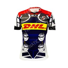 Chinese  2019 New Super Rugby Mens Junior South African BLK DHL Stormers Marvel Thor Jersey Marvel Comic Super Hero Thor Jersey manufacturers