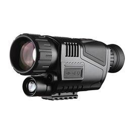 Hd infrared telescope online shopping - 5x40 Infrared Night Vision Telescope Tactical NV540 Monocular HD Digital Vision Optics M Range Powerful Telescope