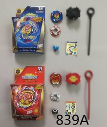 $enCountryForm.capitalKeyWord Australia - Hot style 4D beyblade burst explosion arena toy B117 B127 Beyblades metal fusion spinning top god bay blades toy mechanism