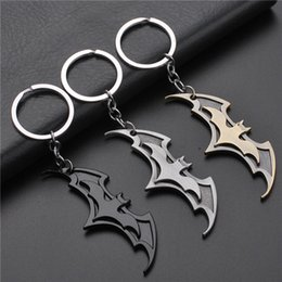 coin holder pendant 2019 - 17 styles 2019 New Fashion Avenger Union Batman keychains For Bag Key Holder Charm Hanging pendant Car Key Chains Key Ri