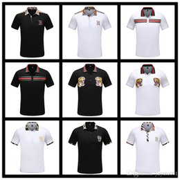 $enCountryForm.capitalKeyWord NZ - iduzi Italy designers polo shirt Brand t shirts mens Casual Cotton polos with embroidery bee High street fashion tiger floral m-3xl
