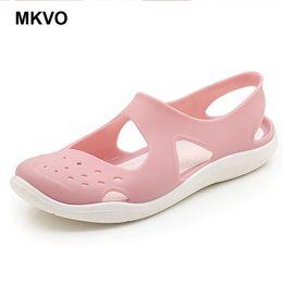 91f62a2cdc69e Garden Shoes NZ - Women Clogs Jelly Sandals Beach Non-slip Summer Hole Shoes  Female