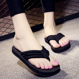 best beach sandals 2019 - 2pcs Free Shipping 2019 new summer slippers women cut out beach sandals women slides outdoor slippers indoor slip on fli