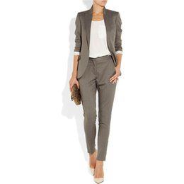 Office wear suits fOr wOmen online shopping - Womens Suits Blazer with Pants Work Wear Sets Uniform Styles Elegant Party Suits for Wedding Woman Office Suits Top and Pant Set