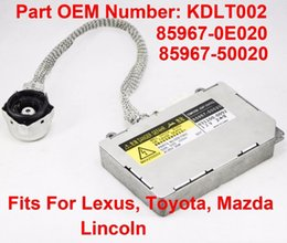 $enCountryForm.capitalKeyWord Australia - Xenon orginal used brand new HID Headlight Ballast Control Unit 85967-50020 For Lexus ES 2000-2006 GS 1998-2005 Toyota 2003-2007