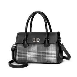 $enCountryForm.capitalKeyWord NZ - Susinan Plaid ladies messenger bags patchwork ladies pu shoulder bags chain handbags for women 2018 Korean new fashion