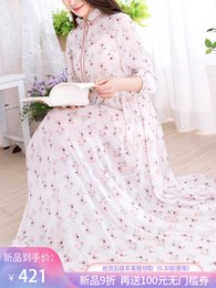 Skirt Suit Patterns Australia - Fairy2019 Concubine Imperial Beautiful Real Chiffon Dress Suit Woman New Pattern Twinset Long Fairy Skirt 986101