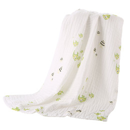 $enCountryForm.capitalKeyWord NZ - 6 Layer Bath Towel Baby Muslin Swaddle Baby Blankets Swaddle Wrap Bedding For Sleeping Bathroom Shower Stroller COVER