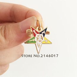 $enCountryForm.capitalKeyWord Australia - 100pcs Eastern Star Charm with the gavel os Freemasonic Pendant Freemasonry Masonic Mason Past Master Order of Chapter Jewelry