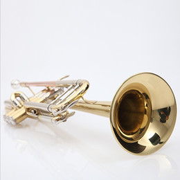 $enCountryForm.capitalKeyWord Australia - 2 pcs 2019 Vincent Bach Professional Bb Trumpet TR-600 Gold Lacquer Musical Instrument Professional Trumpet TR600 With Case Mouthpiece