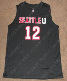 BasketBall jersey women online shopping - Cheap custom Seattle Redhawks  Clarence Trent Basketball Jersey Stitched Customize c8a4929a6