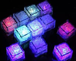 $enCountryForm.capitalKeyWord Australia - LED Light Ice Cube Artifical Liquid Sensor Lighting Crystal Ice Cubes Flash For Christmas Wedding Ktv Bar Party Holiday