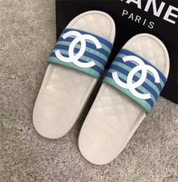 $enCountryForm.capitalKeyWord Australia - New Fashion Women's Casual sandals Leathe Beach shoes flip-flops sliipers woman peep toe sandals C78644