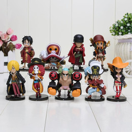 $enCountryForm.capitalKeyWord Australia - 9pcs set Anime One Piece Action Figures Cut One Piece Film Z Mini Figure Toys Dolls approx 8CM