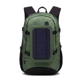 $enCountryForm.capitalKeyWord UK - Outdoor solar energy charging backpack multi-functional travel business backpack USB mobile phone charging backpack