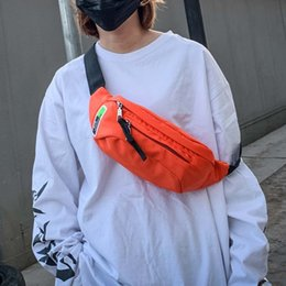 $enCountryForm.capitalKeyWord Australia - Nylon Waist Bag For Women And Men Streetwear Outdoors Travel Messenger Shoulder Chest Bags Solid Colors Student Hip Belt Pack #S