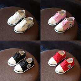 BaBy foot ties online shopping - Canvas Children Shoes Baby Sport Shoes Boys Girls Not Smelly Feet Soft Sole Breathable Spring Fashion Casual Kids Sneakers