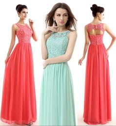 $enCountryForm.capitalKeyWord Australia - Formal A-Line Evening Dresses The European And American Fashion Lace Long Prom Dresses Of Bridesmaid Dresses