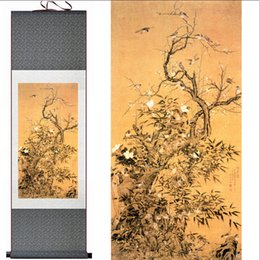 $enCountryForm.capitalKeyWord NZ - Birds On The Tree Painting Home Office Decoration Chinese Scroll Painting Birds Painting Birds And Flower Painting2019061430