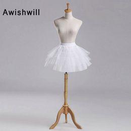 $enCountryForm.capitalKeyWord Australia - White or Black Short Petticoats 2019 Women A Line 3 Layers Underskirt For Wedding Dress jupon cerceau