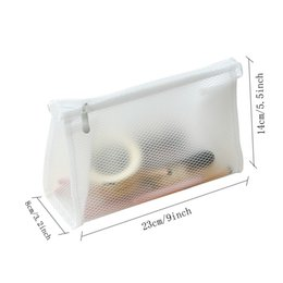 Clear Cosmetic Kit Bags Australia - Clear Cosmetic Bag for Women Transparent Makeup Case Makeup Organizer Bags Toiletry Fashion Travel Kits Storage Pouch Bag VT0278