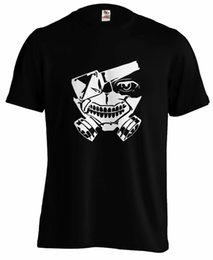 $enCountryForm.capitalKeyWord Australia - Tokyo Ghoul Mask Kaneki Manga Anime T shirt Tee Men Women Unisex Fashion tshirt Free Shipping Funny Cool