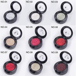 $enCountryForm.capitalKeyWord Australia - DHL Free shipping Miss Rose Brand Glitters Single Eyeshadow Glitter Eye Shadow Palette 24 Colors Eye Shadow 360pcs