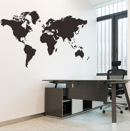 $enCountryForm.capitalKeyWord NZ - New carved World Map office wall bedroom living room background wallpaper creative fashion home popular wild black and white