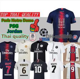 44b56bb33 SleeveleSS football jerSeyS online shopping - 2018 PSG Jordam MBAPPE  champions league Maillot de foot Paris